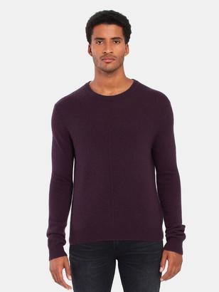 ATM Anthony Thomas Melillo Cashmere Exposed Seam Crewneck Sweater