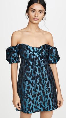 BB Dakota Spectrum Blue Mini Dress