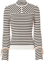Exclusive for Intermix Victoria Lurex Stripe Knit