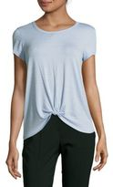 Saks Fifth Avenue Dawn Knot Slub Top