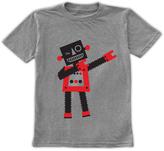Urban Smalls Heather Gray Dabbing Robot Tee - Toddler & Boys