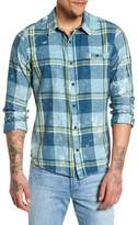 Hurley Burnside Plaid Shirt