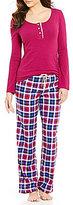 Lucky Brand Plaid Flannel Pajamas
