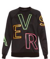 Versace Cut-out logo sweatshirt