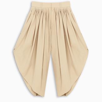 Chloé Beige flou trousers