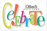 Dillard's Celebrate Gift Card