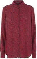 SET Leopard Printed Shirt, Red, 34