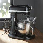 Crate & Barrel KitchenAid ® Professional 600 Onyx Black Stand Mixer