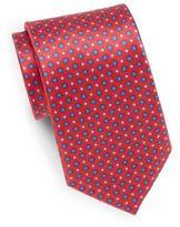 Saks Fifth Avenue Floating Floral-Print Silk Tie