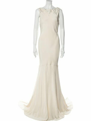 Oscar de la Renta Bridal Gown Long Dress