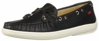 Marc Joseph New York Unisex-Kid's Casual Comfort Slip On Moccasin Tie-Bow Loafer Driving Style