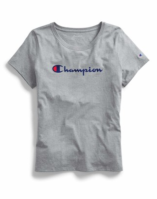 Champion Women's T-Shirt C Patch