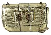 Christian Louboutin Sweety Charity Watersnake Mini Crossbody Bag
