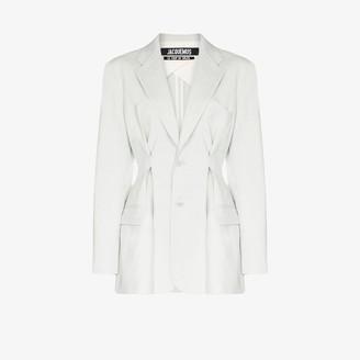 Jacquemus La Veste Raffaella single-breasted blazer