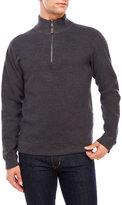 Tailor Vintage Reversible Quarter-Zip Sweater