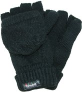 Dorfman Pacific Men's Rag Wool Convertible Gloves