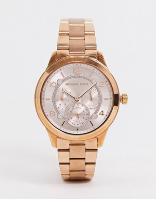 Armani Exchange Michael Kors MK6589 watch in rose gold