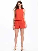 Old Navy Jersey-Knit Tank Romper for Women