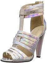 Little Mistress Fleur, Women's Cone Heel Sandals,(38 EU)