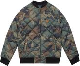 Polo Ralph Lauren Camouflage Quilted Baseball Jacket