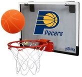 NBA Indiana Pacers Rawlings Polycarbonate Over-The-Door Mini Hoop