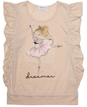 Beautees Girls Ballerina Dreamer Tee
