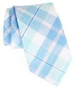 Vineyard Vines Men's Upper Bluff Plaid Linen Tie