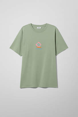 Weekday Frank Fulmoon T-shirt - Green