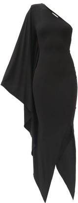 Alexandre Vauthier Asymmetric Stretch-jersey Dress - Black