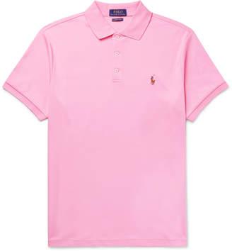 Polo Ralph Lauren Slim-Fit Pima Cotton-Jersey Polo Shirt