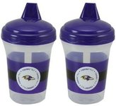 Baby Fanatic Baltimore Ravens Sippy Cups (Set of 2)