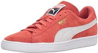 Puma Women's Suede Classic Wn Sneaker Spiced Coral White