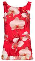 Wallis Petite Coral Floral Shell Top