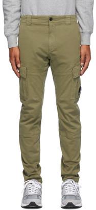 C.P. Company Khaki Sateen Lens Cargo Pants