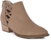 Seychelles Women's Casual boots TAUPE - Taupe Cutout Remembrance Leather Bootie - Women