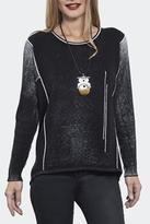 G9C United Knitwear Black Wash Sweater