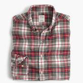 J.Crew Vintage oxford shirt in Stewart tartan