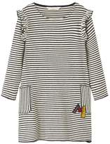 MANGO Girls Striped Jersey Dress