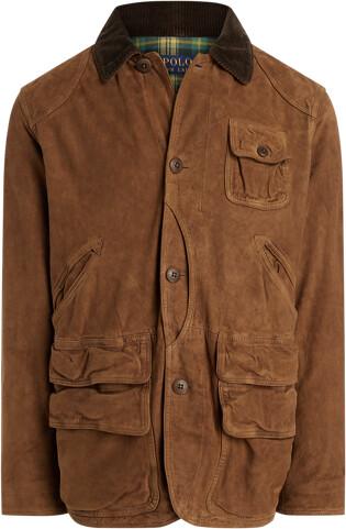 Ralph Lauren Suede Utility Jacket