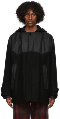 Nicholas Daley Black Railroad Parka