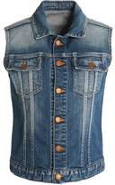 Jil Sander Faded Denim Vest