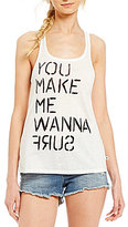 Roxy Mextube You Make Me Wanna Surf Graphic Tank Top