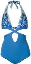 La Perla Floral Rhapsody swimsuit - women - Nylon/Spandex/Elastane - 30B