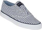 Sperry Cameron Slip-on Sneaker Navy Seersucker