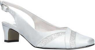 Easy Street Shoes Slingback Square-Toe Pumps - Ginny