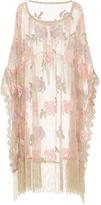 Anna Sui Crochet Lace Cape