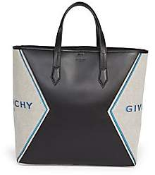 Givenchy Men's Bond Canvas Leather Tote