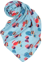 Blue Balloons Scarf