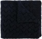 Salvatore Ferragamo weave knit scarf