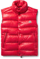 Moncler Tib Quilted Shell Down Gilet - Red